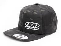 GenRight Logo Premium 6-Panel Snapback Cap (Black Camo)
