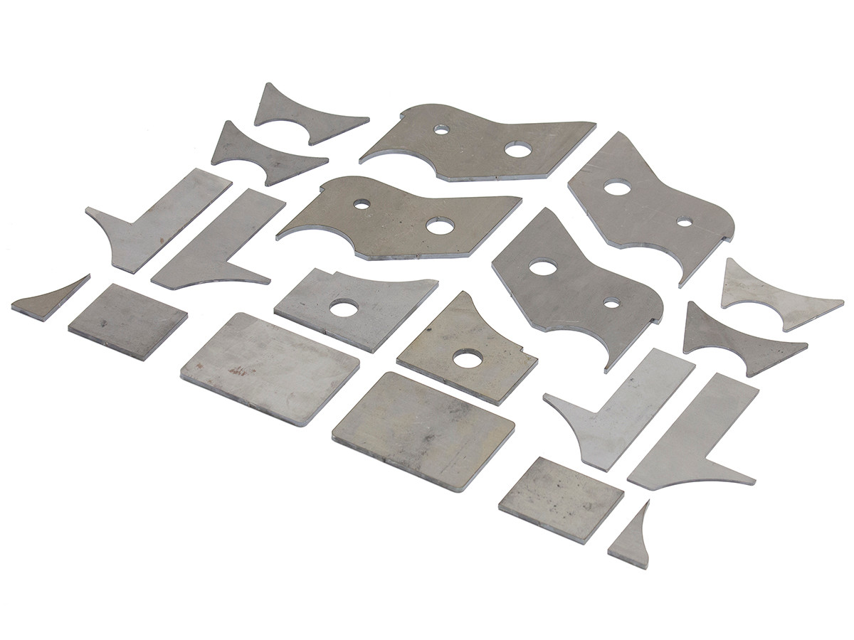 SUP-1001 GenRight's front axle bump stop pad kit