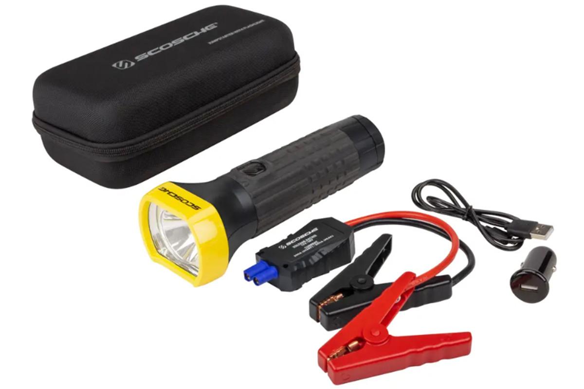 Scosche PowerUp 600 Torch Battery Bank & Jump Starter
