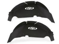 Jeep JL Aluminum Rear Inner Fenders (Black)