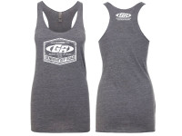 GenRight Classic Women's Racerback Tank Dress (Grey)