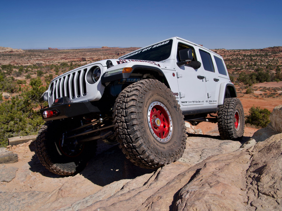 JL EXS Suspension System (Chassis Only)