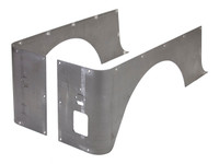 CJ-7 Corner Guard Set (Stretch) - Steel