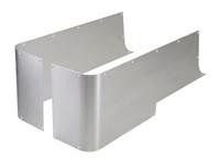CNR-5010 GenRight Aluminum Full Corner Guard Blanks for Jeep TJ, YJ or CJ-7