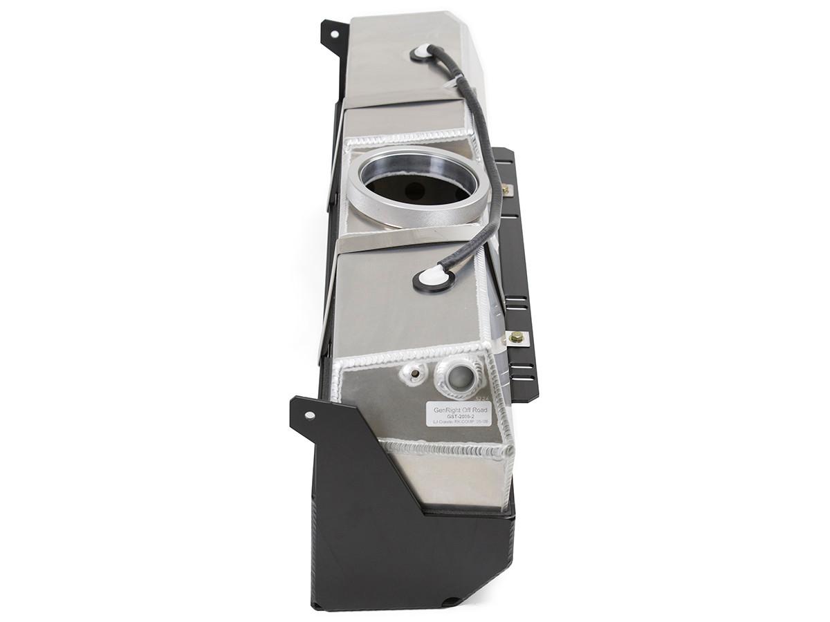 TJ/LJ Crawler™ ALIEN Gas Tank & Skid Plate Side View