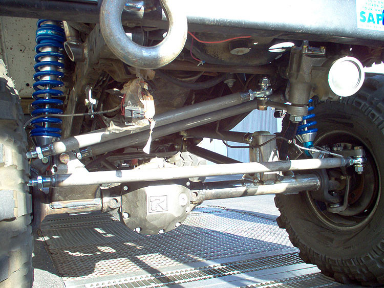 """5/8"""" bolts are idea to drill out the stock ball joint taper"""