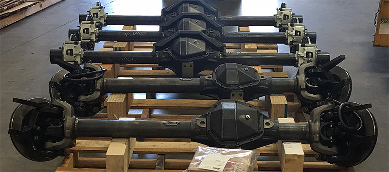 GenRight Stocks Currie Rock Jock Front and Rear Axles