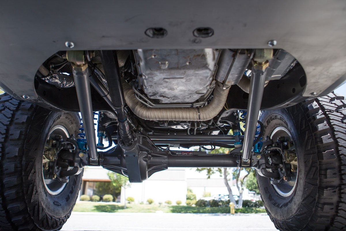 Front Currie VXR installed on Jeep JK