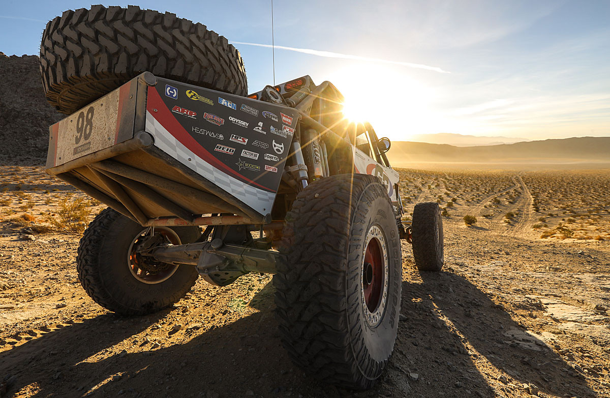 We run the Currie Rock Jock 70 in our 800HP Unlimited Class off-road race car