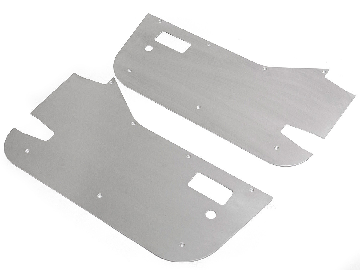 """3/16"""" Aluminum Skins for the Factory Jeep 1/2 doors"""
