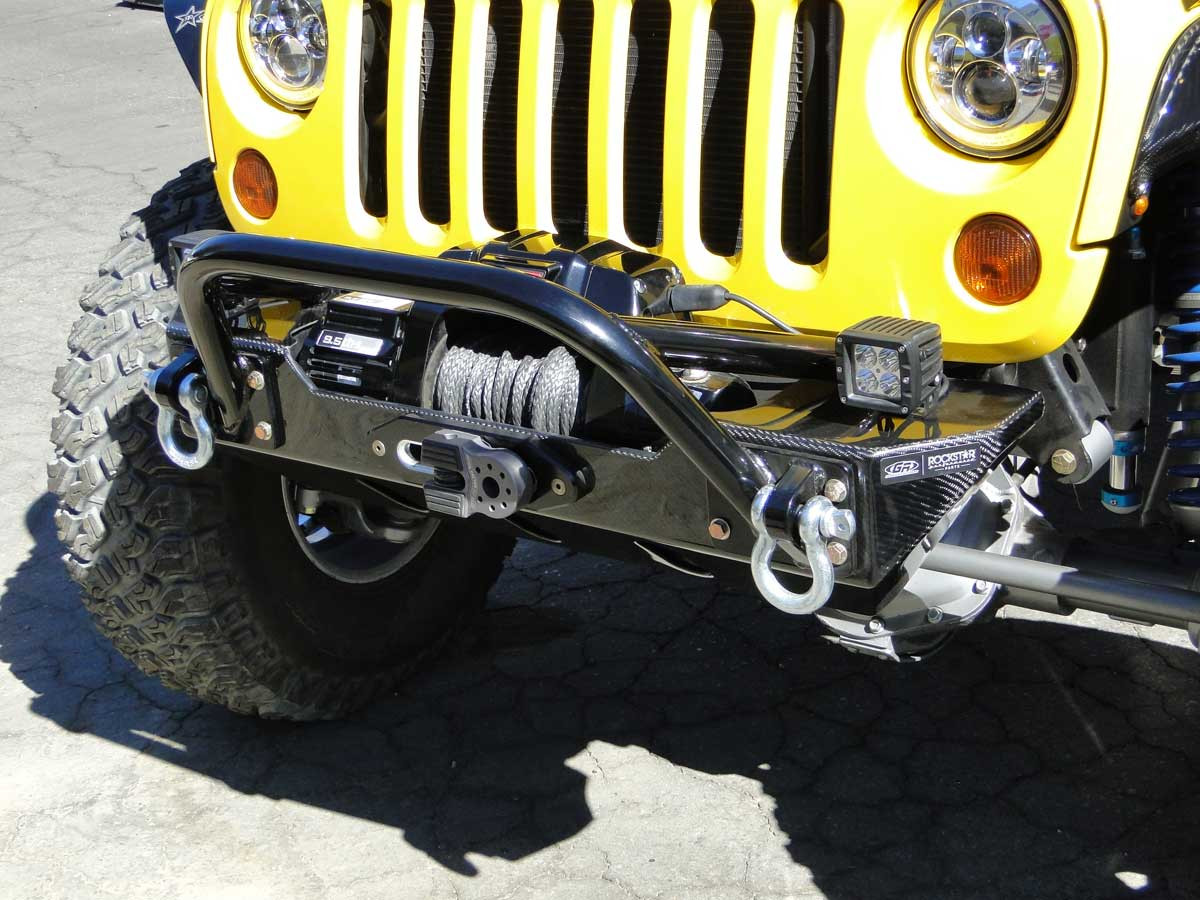 Factor 55 FlatLink Pictured here on our Terremoto Jeep JK