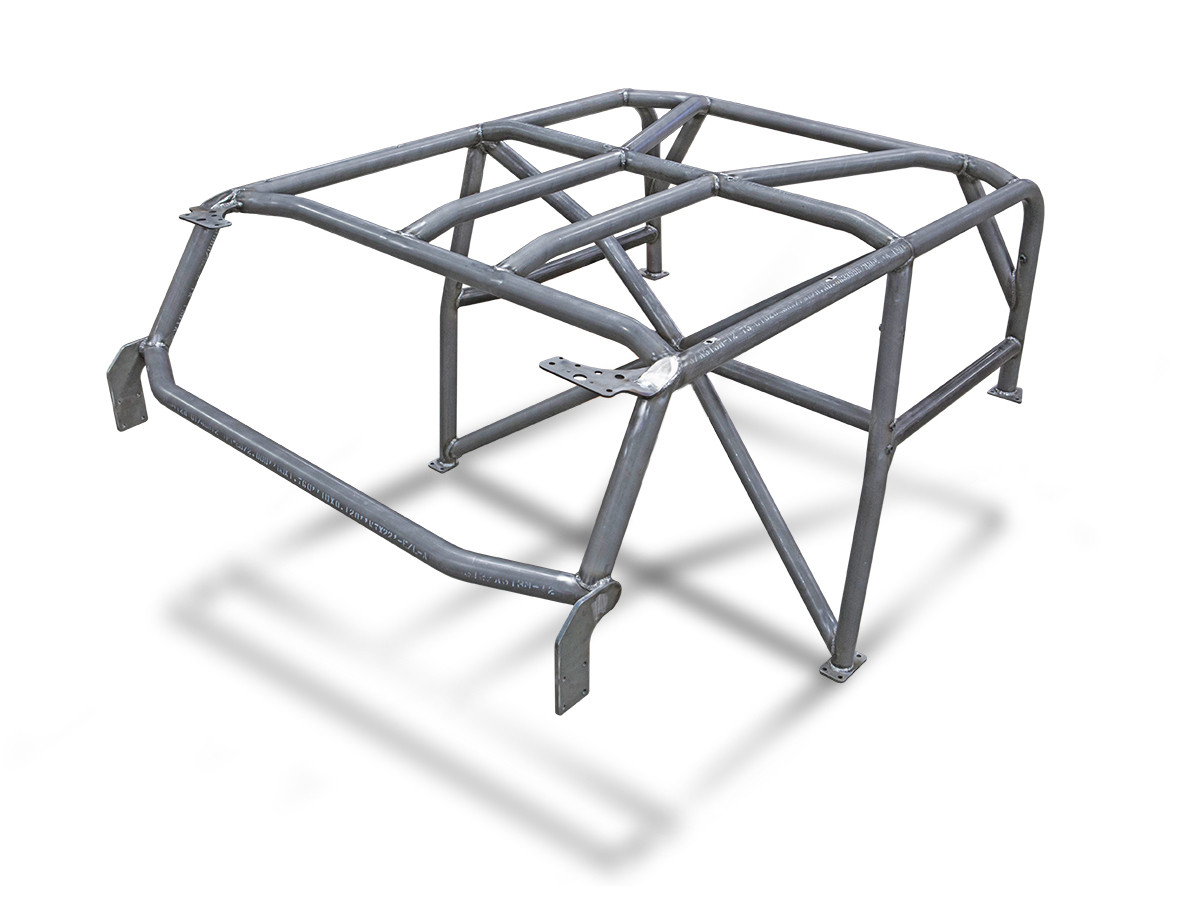 JK (2 Door) Full Roll Cage Kit (Shown with optional X Bar)