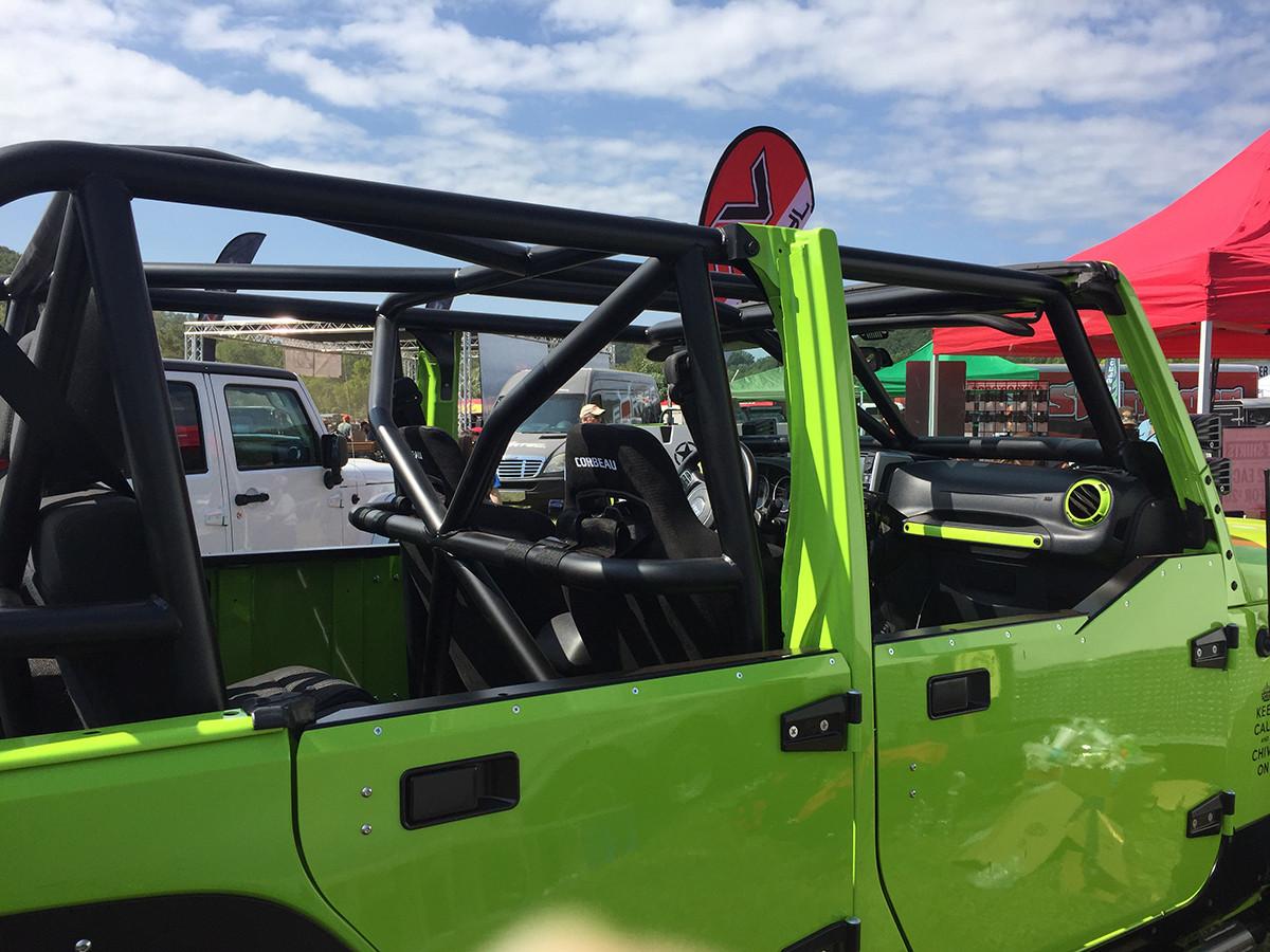 Installed in a Jeep Wrangler JKU