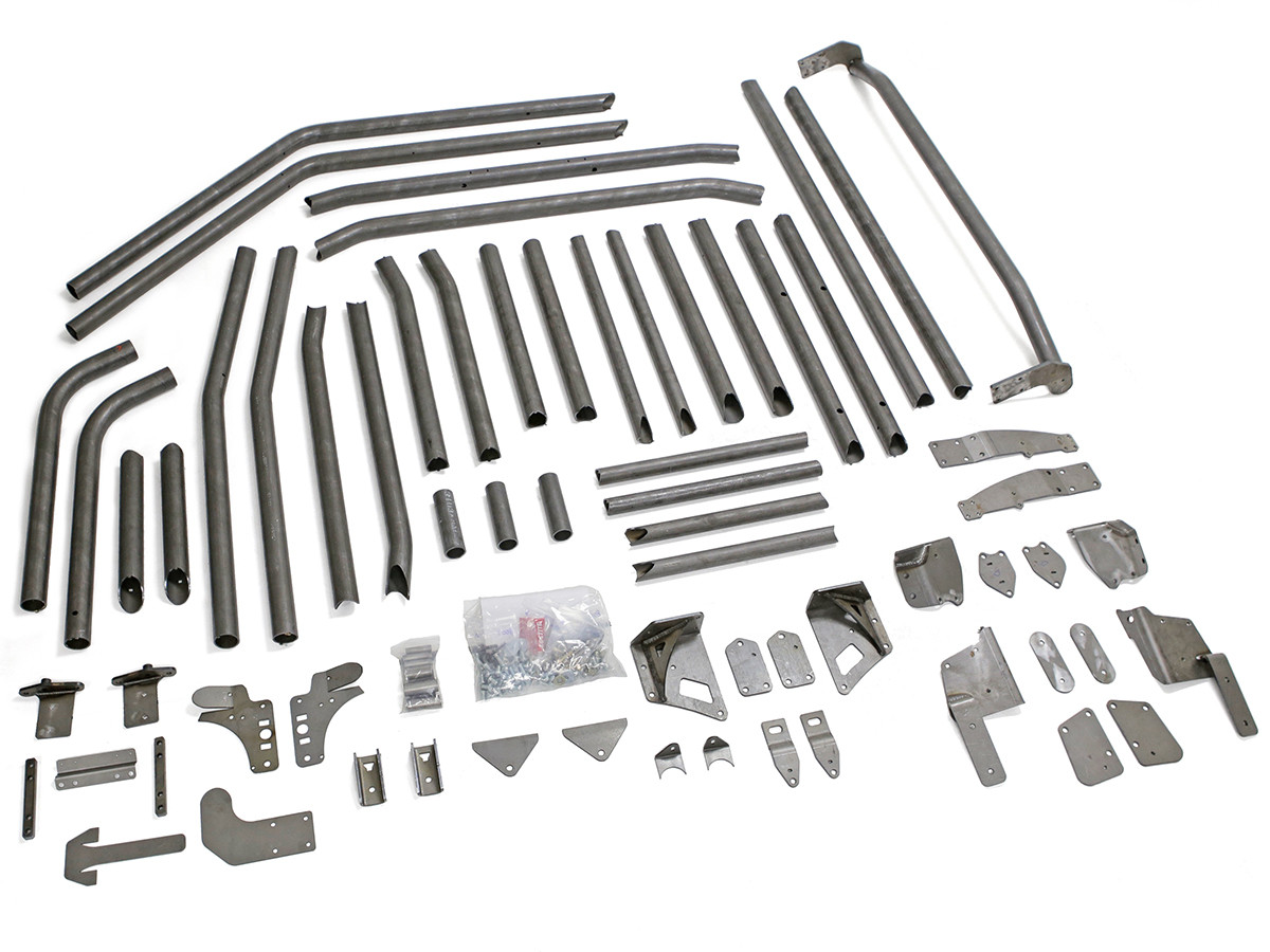 JK (4 Door) Full Laser Cut & Puzzled Roll Cage Kit - As Sold