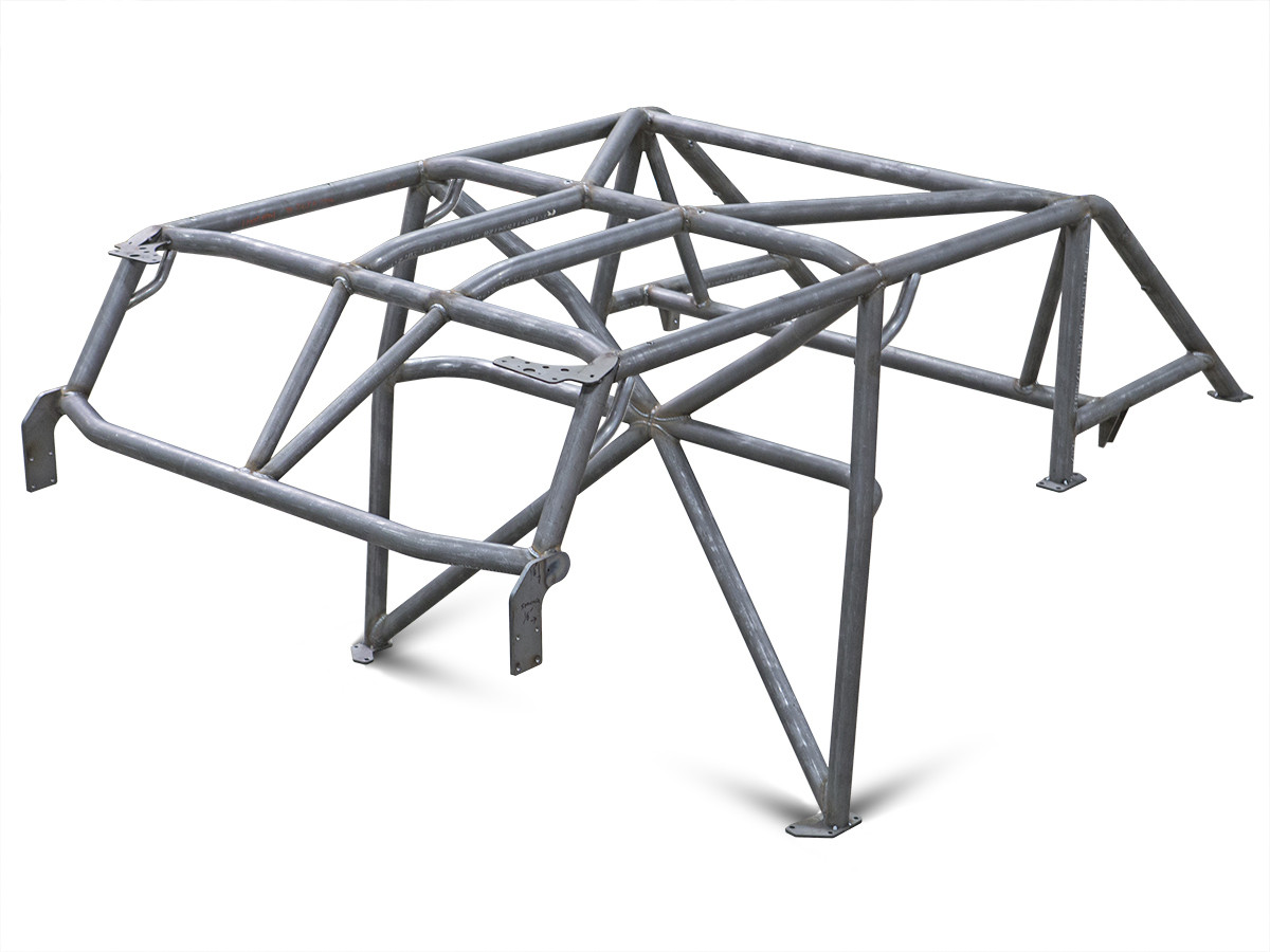 JK (4 Door) Full Roll Cage Kit (All options shown), X bar and V bars