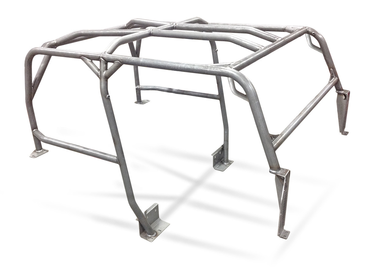 GenRight's Jeep TJ Full Roll Cage Kit Shown with no optional bars