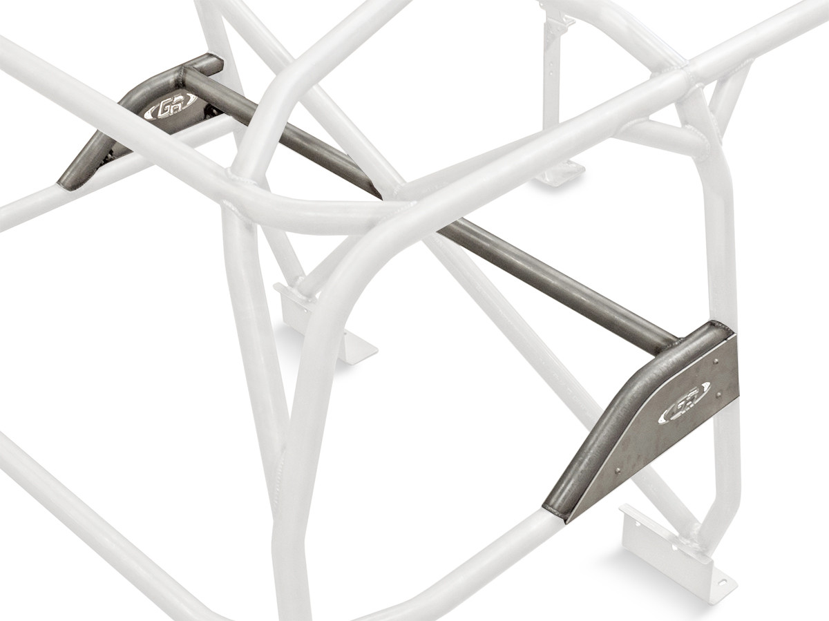 The GenRight Cage Harness Bar Kit includes aluminum side plates (as pictured)