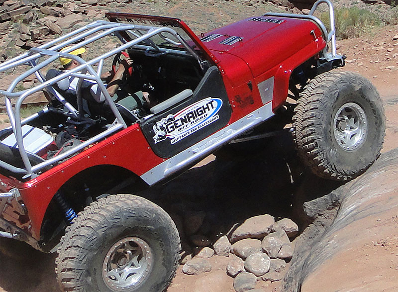 Tony ran the 3 piece louver set on his Growler YJ with a V8