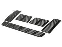GenRight's 5 piece hood louver set