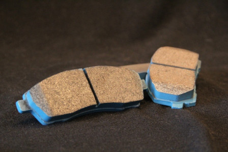 TBM Performance brake pads for the Jeep JK