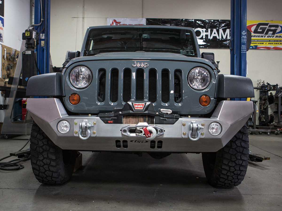 Shown with stock Jeep JK Fender Flares