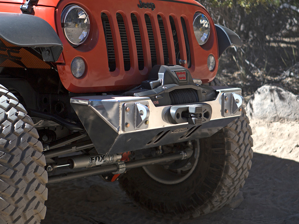 GR front stubby bumper with Polished finish