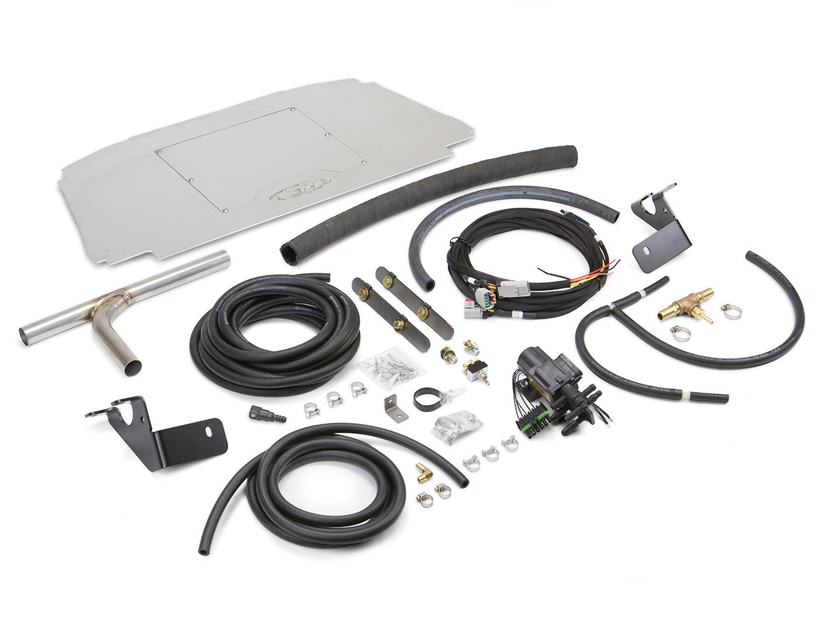 Includes all necessary Hardware, Brackets, Plumbing, Electronics, and Access Plate.