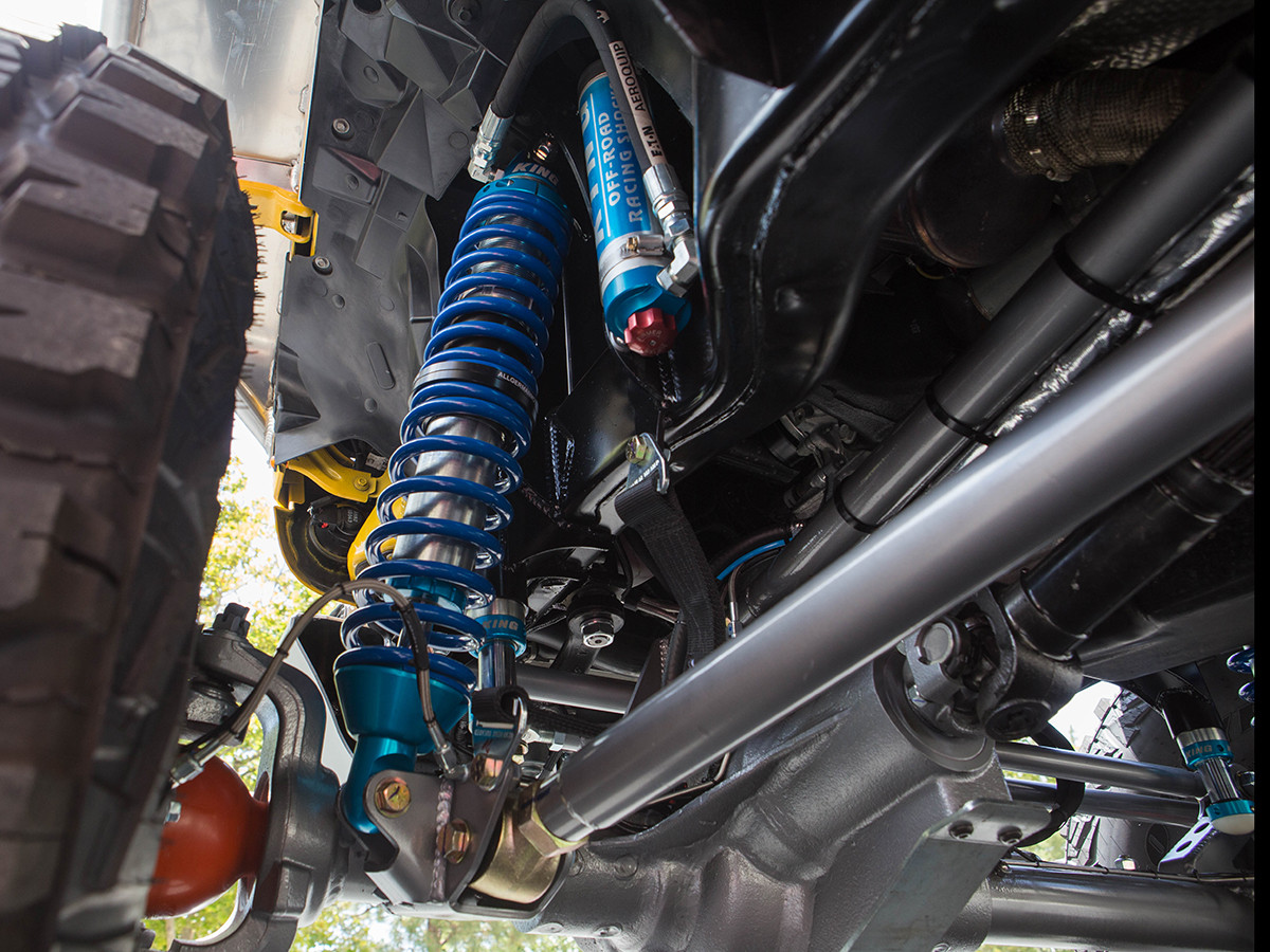 Front Coilover Shocks and Mounts