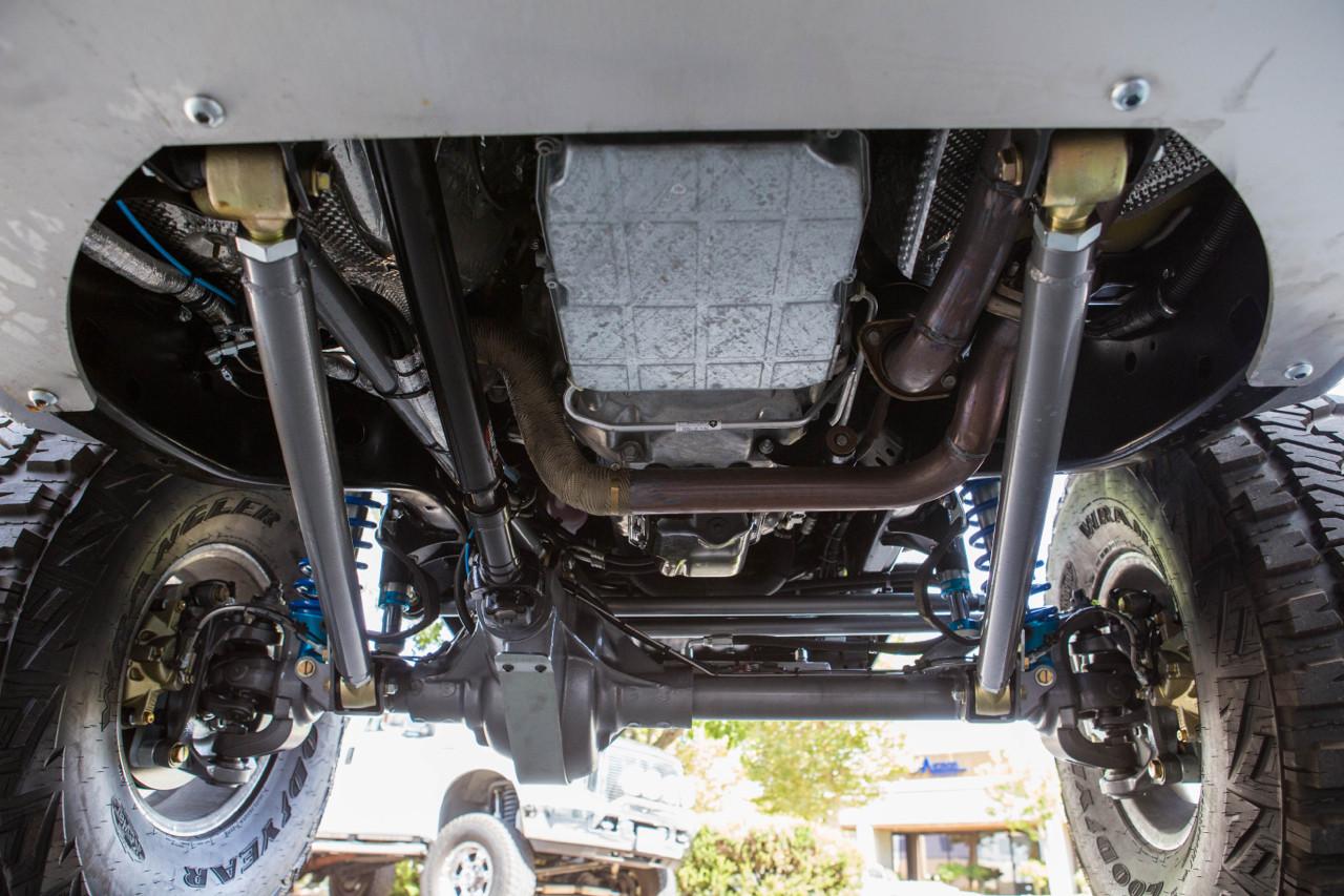 3-Link Front suspension