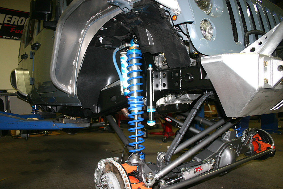 Front Coil Over Shock Mount Kit for the 2 or 4 door JK