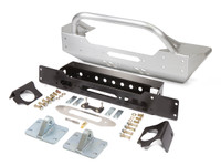 JK Low Profile Winch Guard Front Bumper - Aluminum