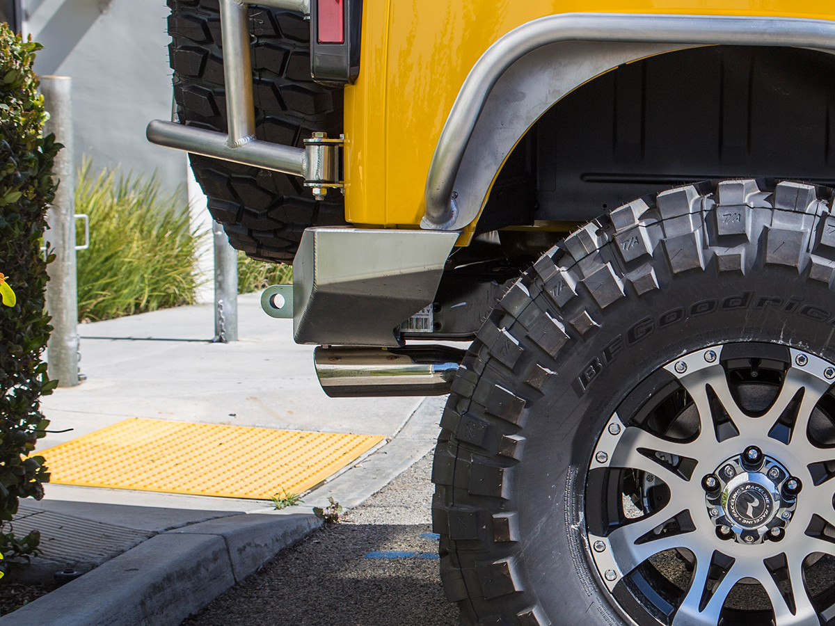 GR Jeep JK Rear Bumpers have the best departure angle on the market!