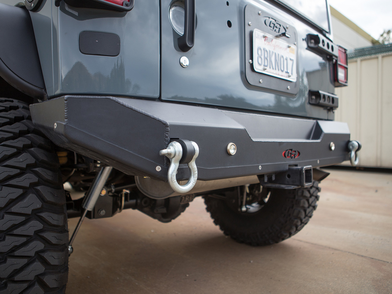 GR rear bumper Powder Coated Black