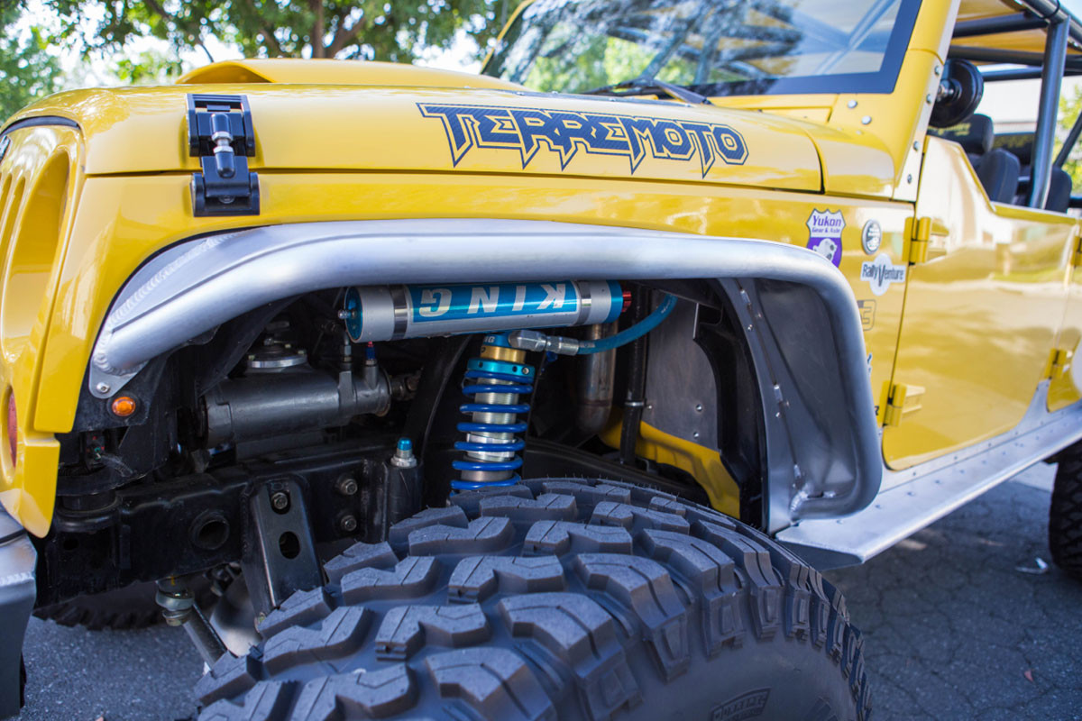 "2.5"" King IBP's on the Terremoto Jeep JK"
