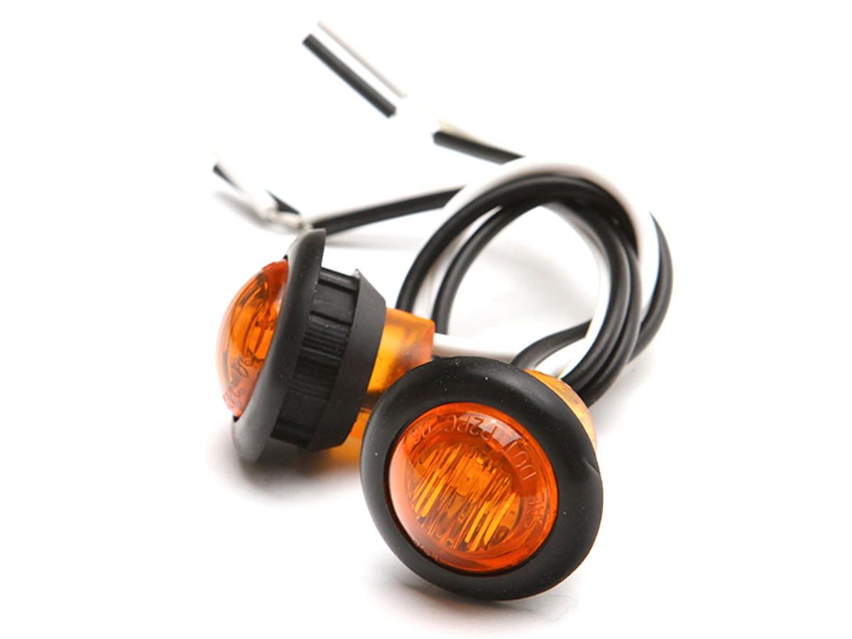 """3/4"""" LED Side Marker Lights"""