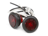 "LED 3/4"" Red side marker lights"