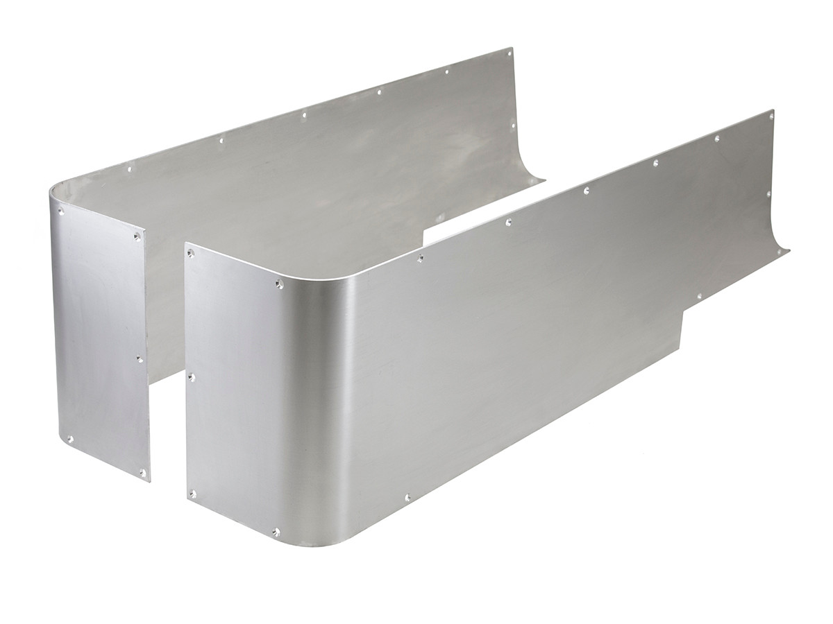 CNR-6010, GenRight's aluminum corner guard blank for the Jeep LJ, Unlimited
