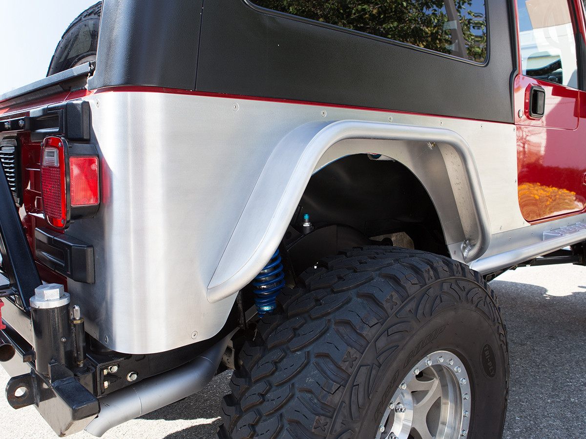 Aluminum Rocker Corners for the Jeep LJ