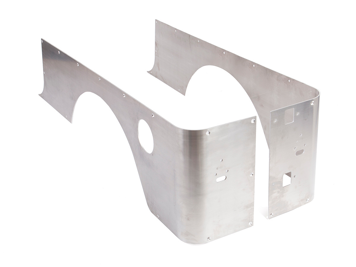 GenRight's Aluminum Rockers for the Jeep LJ Unlimited.