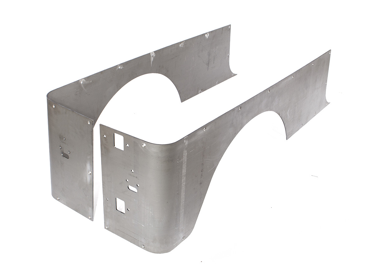 """Jeep LJ Steel corner Guard, with 4"""" stretched wheel opening"""