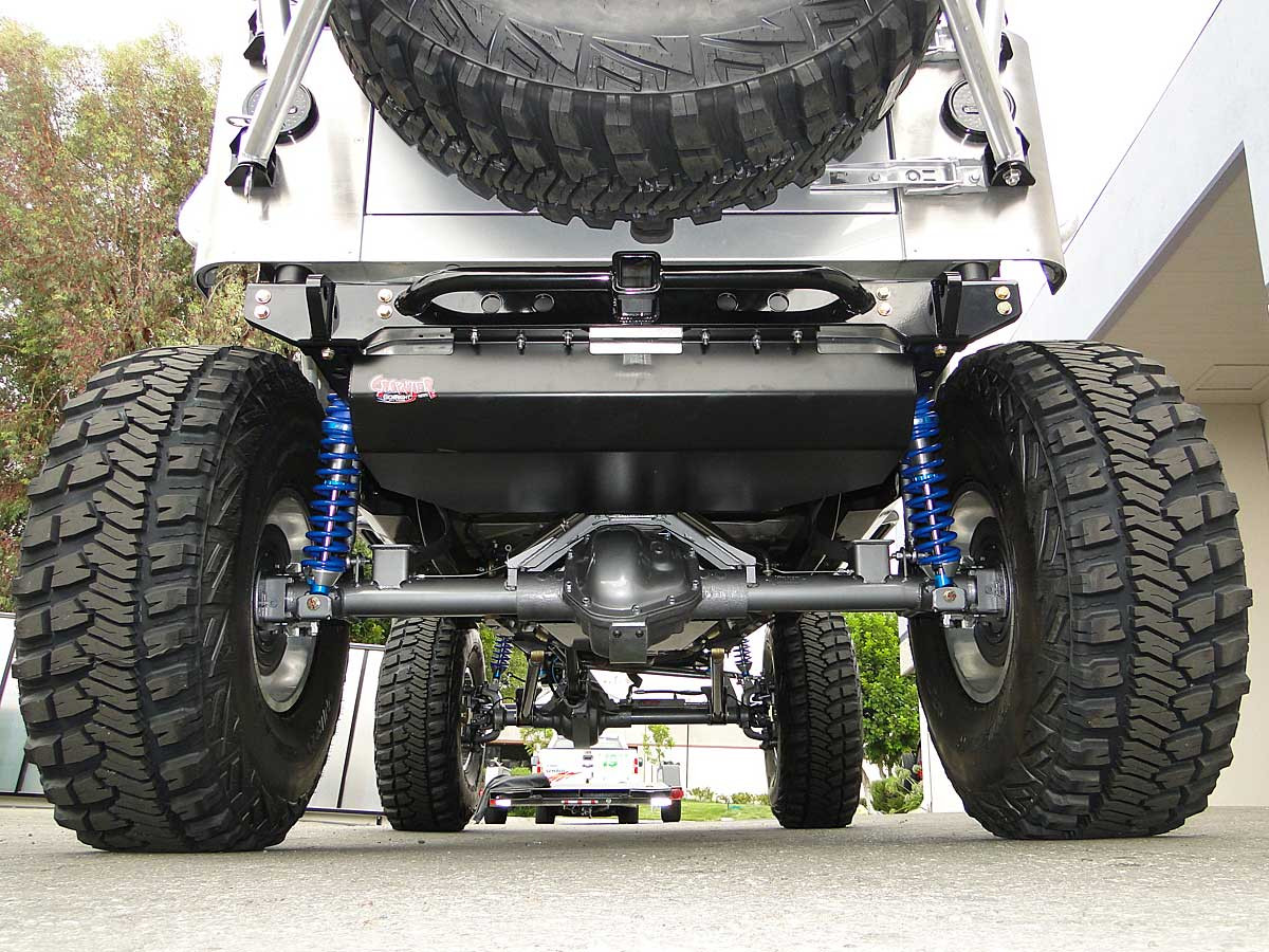 Installed with a Currie 70 rear axle