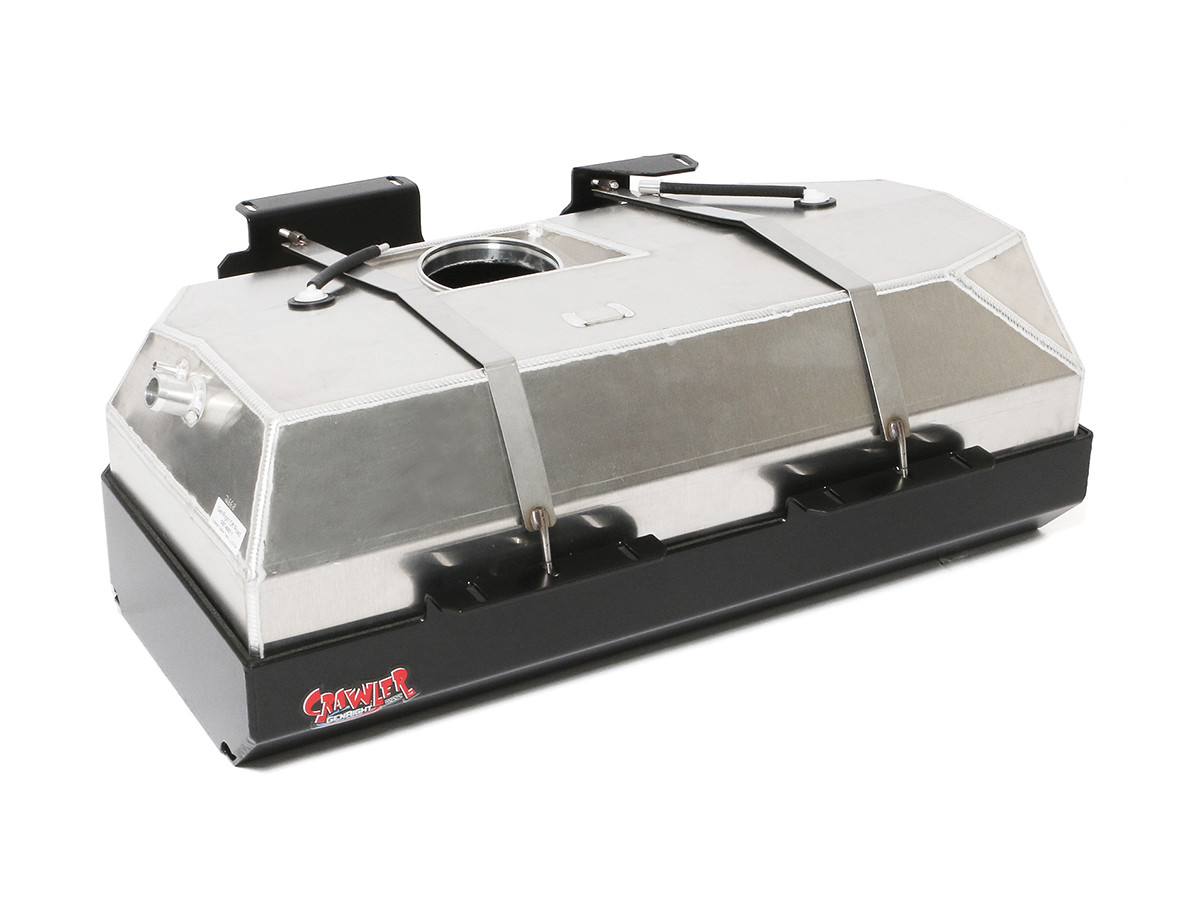 GST-6007 GenRight Safari Extended Range 32 gallon Jeep LJ gas tank and skid plate