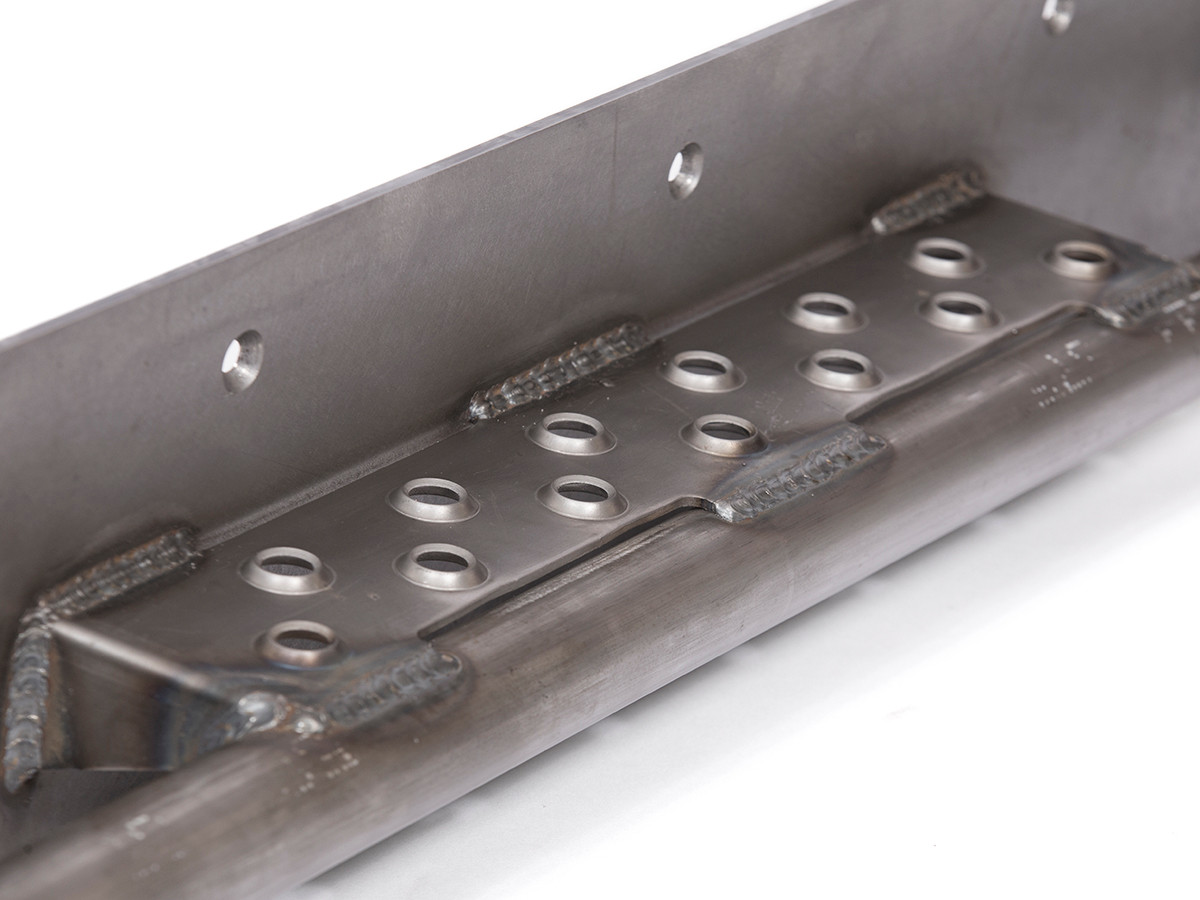 Dimple Die step provides reliable traction