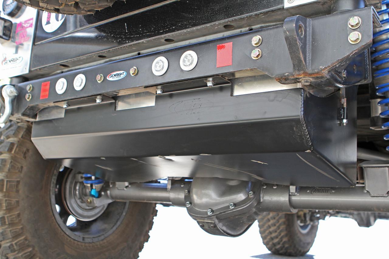 Jeep  TJ// Gas tank skid plate// rock crawler// Rubicon