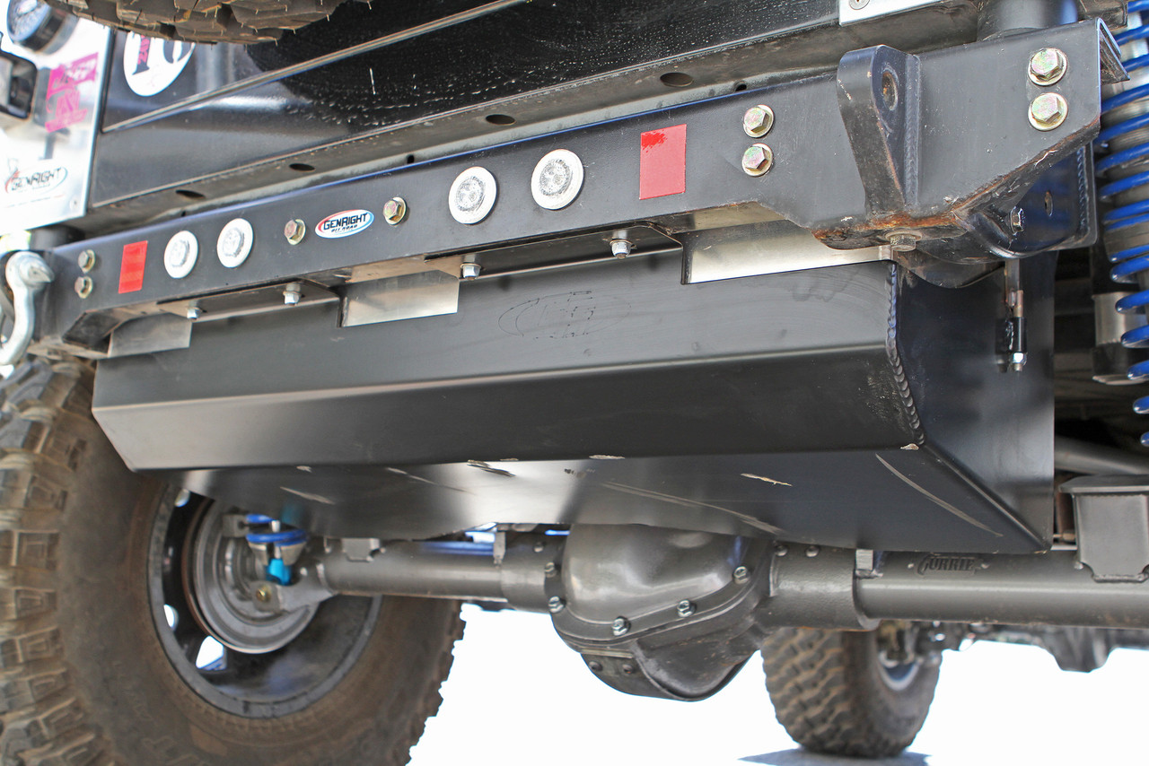 """GenRight COMP Tank installed, gives you 1"""" more ground clearance"""