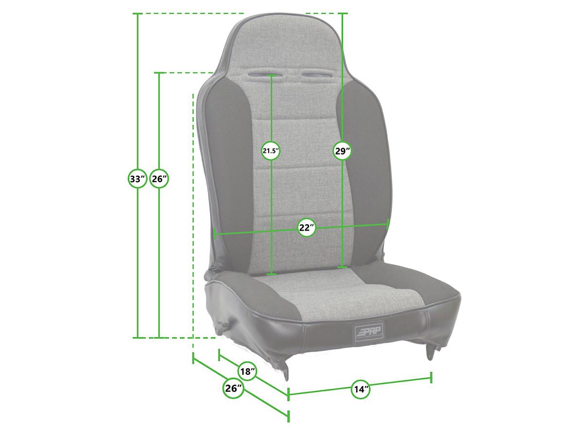 Seat sizing