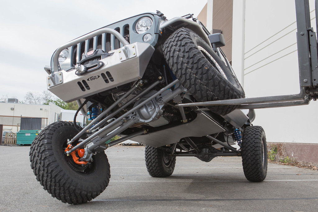 Shown here on a GenRight build with GenRight Hi-steer and Elite suspension