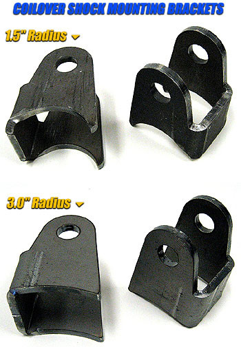 We offer 2 different tabs with radius on bottom to fit your project.