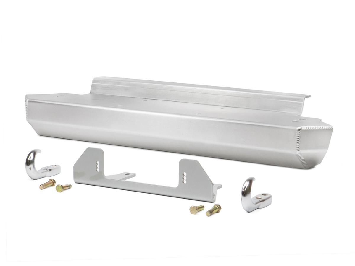 TJ/LJ Stubby Front Bumper - Aluminum
