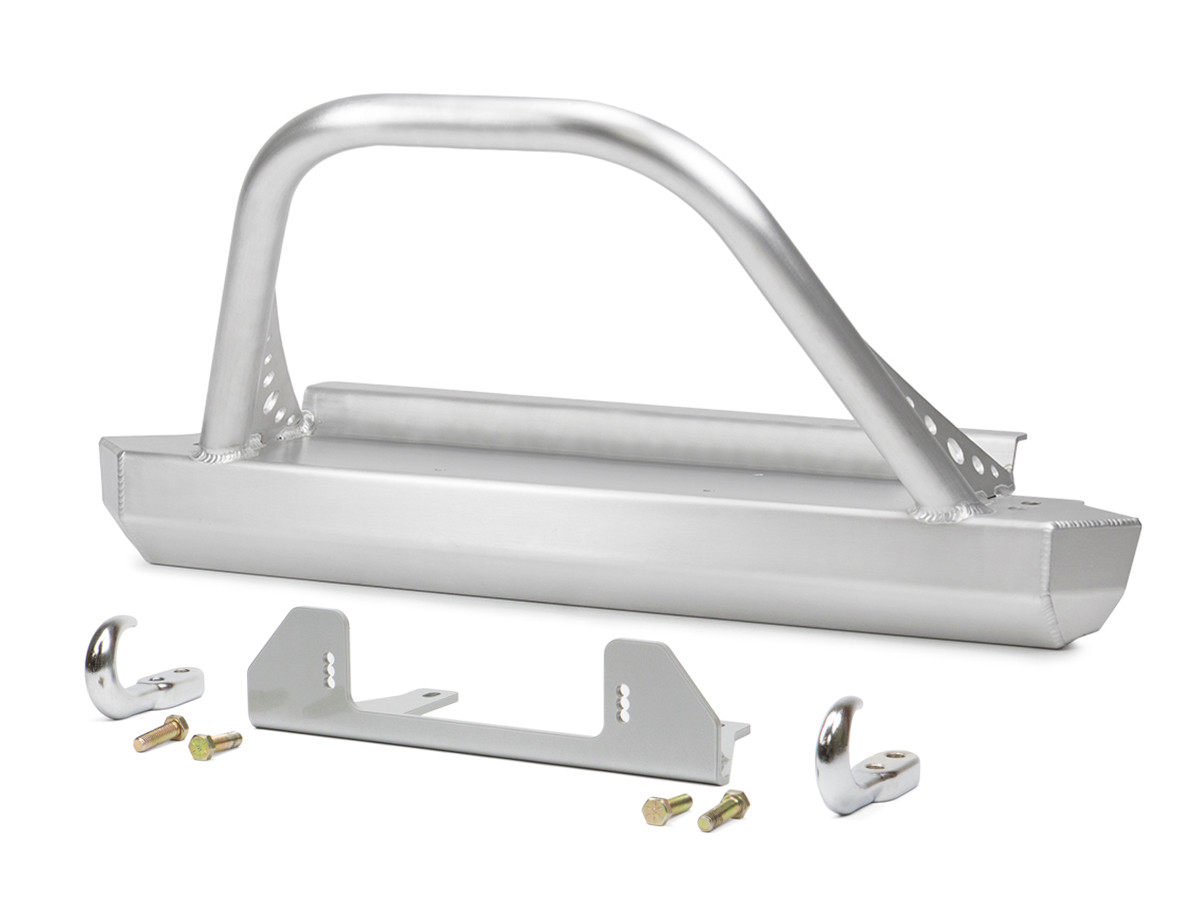 GenRight's Jeep TJ/LJ Winch Guard Front Bumper - Aluminum